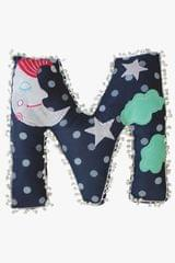 M Alphabet Cushion