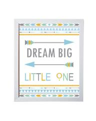 Little Jamun - Dream big little one with white frame