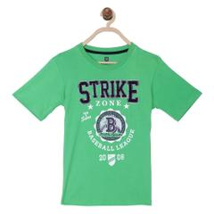 612 League Boys GREEN 100% COTTON STRIKE ZONE
