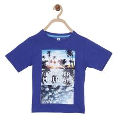 612 League Boys ROYAL 100% COTTON SUMMER HOILDAYS