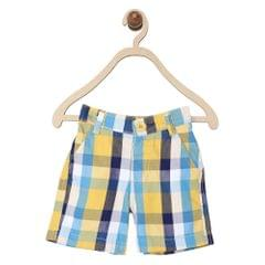 612 League Boys MUSTARD 100% COTTON CHECK BOTTOM