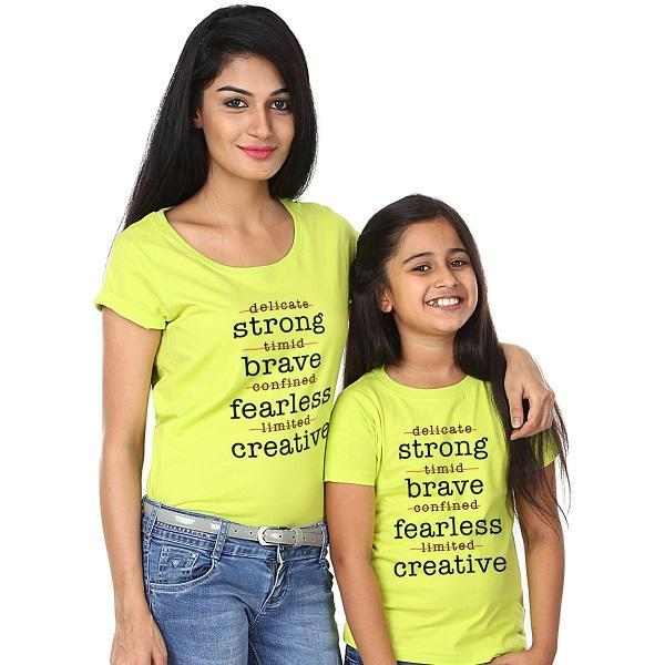 Strong brave Tee - (pack of two)