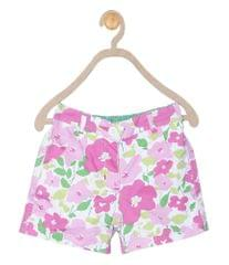 612 League Girls Pink cotton floral bottom 01D