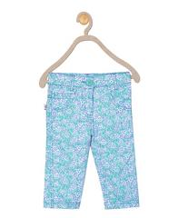 612 League Girls Green Cotton AOP Bottom 04D