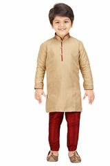 Shree Shubh Boy's Ethnic Kurta Payjama Set
