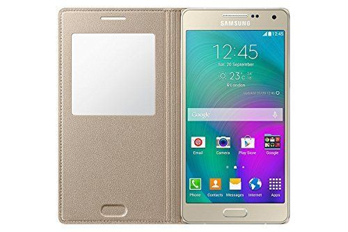 Samsung Galaxy J2 LEATHER CALLER ID Flip Case Cover