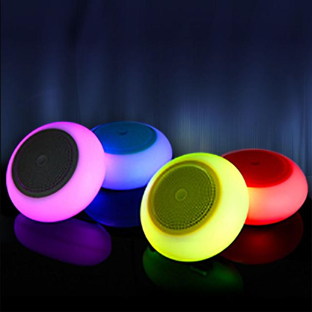 Color Changing Bluetooth Speaker G60- (Grey)