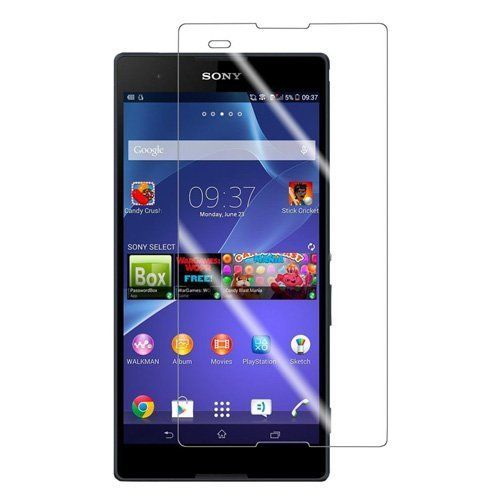 Sony Xperia T2 Anti Burst Tempered Glass Screen Guard Protector