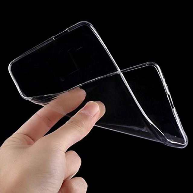 SAMSUNG J7 2015 -Ultra Thin Transparent Clear Silicone jelly gel case Back cover