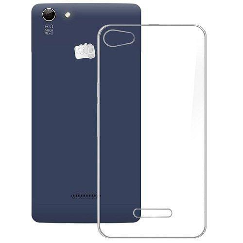Micromax Canvas Selfie 3 Q348 Ultra Thin Transparent Silicone Soft Jelly Case Back Cover