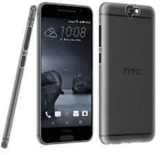 HTC One A9 Ultra Thin 0.3mm Clear Transparent Flexible Soft TPU Slim Back Case Cover