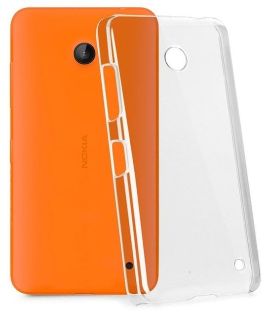 Nokia L 630 0.03 Ultra Thin  Soft Silicon Back Cover