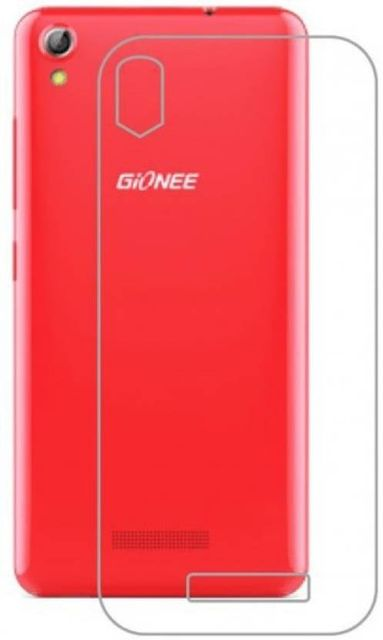 Gionee P5L ultra soft silicon back cover   (Transparent)