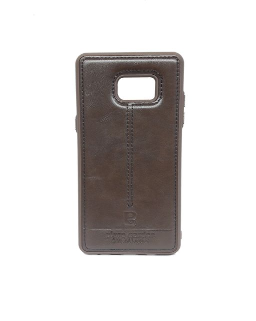 Samsung Note7  Pierre Cardin Luxury Back Lather Case  (Brown)