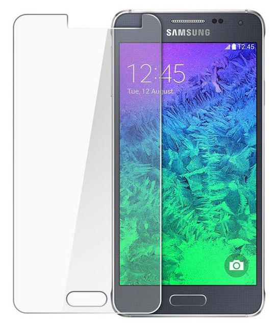 Samsung Galaxy Alpha Tempered Glass Screen Protector