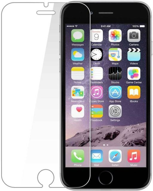 Apple Iphone 6 Plus Tempered Glass Screen Protector Scratch Guard