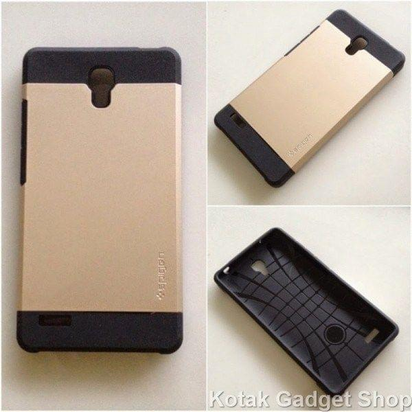 Xiaomi Redmi Note Spigen SLIM ARMOR Hybrid Designer Hard Back Case-Gold