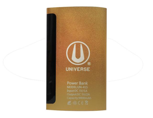 Universal Power Bank 9800mAH UN415 ( Brown)