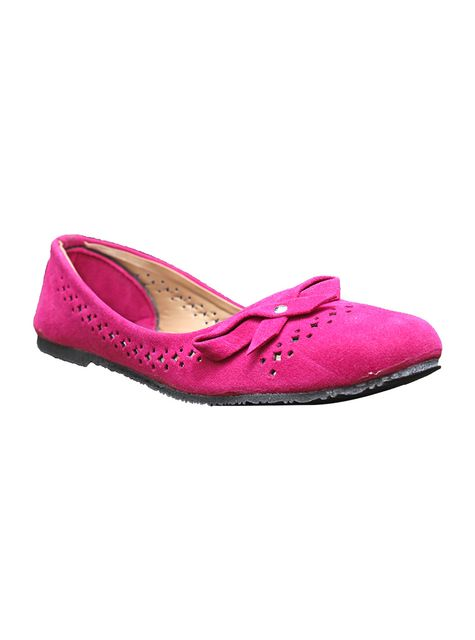 Port  Pink Casual Ballerinas For Women's
