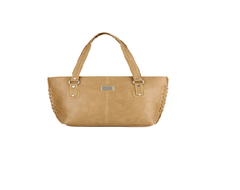 Port Exclusive Beige Leather Shoulder Bag