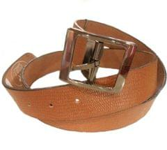 Port Brown Casual Leather Belt For Men's
