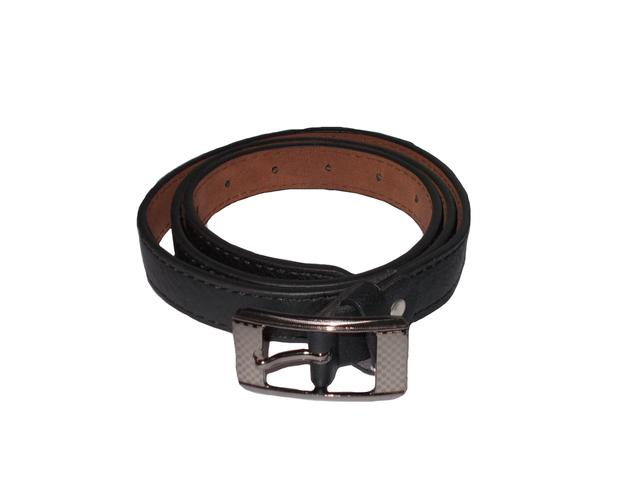 Elvi's Ladies Leather Belt black