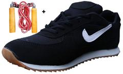 Port Unisex Expert OO7 Black Gym Shoes(Rope Free)