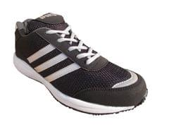 Port Verdin Black White PU Gym & Training Shoes For Men's