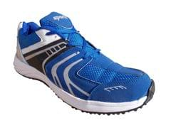 Port Zagger Blue PU Gym & Training Shoes For Men's