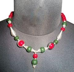 Port Exclusive Multicolored Pearl Studded Necklace Sets