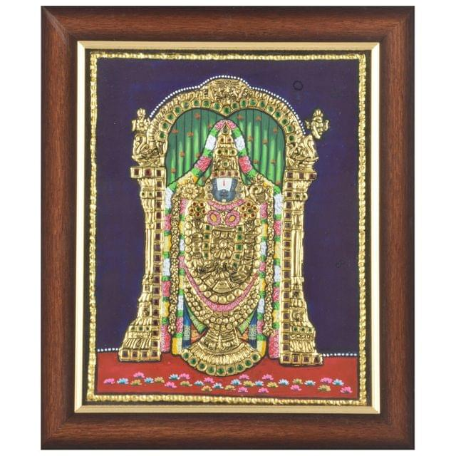 Mangala Art Balaji Tanjore Paintings, Size:20x16inches, Color:Multi