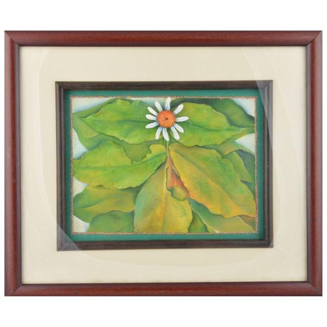 Mangala Art Leaf M-seal Mural Artwork, Size:17x14 inches, Color:Multi