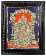 Mangala Art Balaji Tanjore Paintings, Size:15x12 inches, Color:Multi