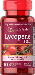 LYCOPENE 10 MG / 100 SOFTGELS / ITEM #002111