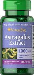ASTRAGALUS EXTRACT 1000 MG* 1000 MG / 100 SOFTGELS / ITEM #030457