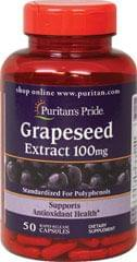 GRAPESEED EXTRACT 100 MG / 50 CAPSULES / ITEM #005430