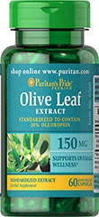 OLIVE LEAF STANDARDIZED EXTRACT 150 MG 150 MG / 60 CAPSULES / ITEM #006560
