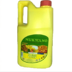 MUKWANO VEGETABLE COOKING OIL 3L