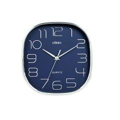 CK 1113 WALL CLOCK OVEL SHAPE WITH VIOLET COLOR