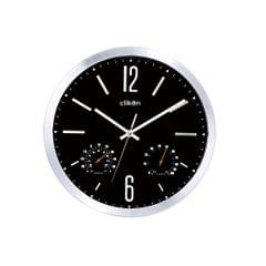 CK 1115 WALL CLOCK ROUND SHAPE WITH BLACK COLOR AN