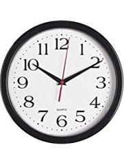 CK 1116 WALL CLOCK- ALUMINUM FRAME WITH SQUARE DIA