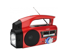 CK 707 RECHARGEABLE RADIO WITH FLASH LIGHT (MP3,WM