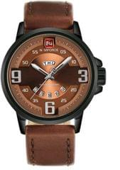 NAVI FORCE CHRONOGRAPH WATCH IN BROWN COLOUR