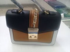 Office Classybag In Yellow & Black Color