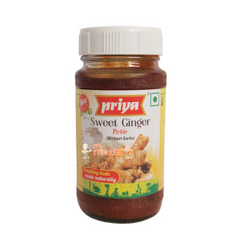 PRIYA SWEET GINGER PICKLE 300G