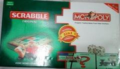 Scrabble With Monopoly (2 In 1)