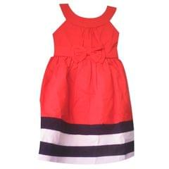 Kids Red, Blue And White Dress (1-6 Years)