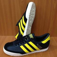 Yellow And Black Sneakers