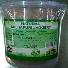 Natural Kolhapuri Jaggery (Packet) 500GM