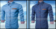 BRANDED COMBO OF 2 PREMIUM DENIM SHIRTS